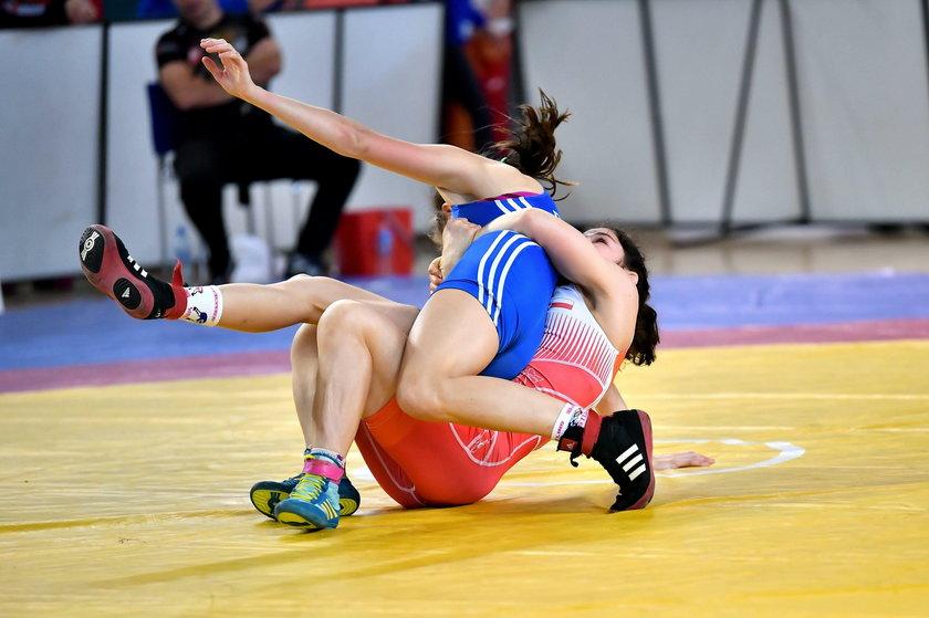 Poland Open: finał kat. 50 kg – Anna Łukasiak (czerwony) i Nikola Dytrych