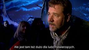 """""""Noe: wybrany przez Boga"""": Russell Crowe o filmie"""