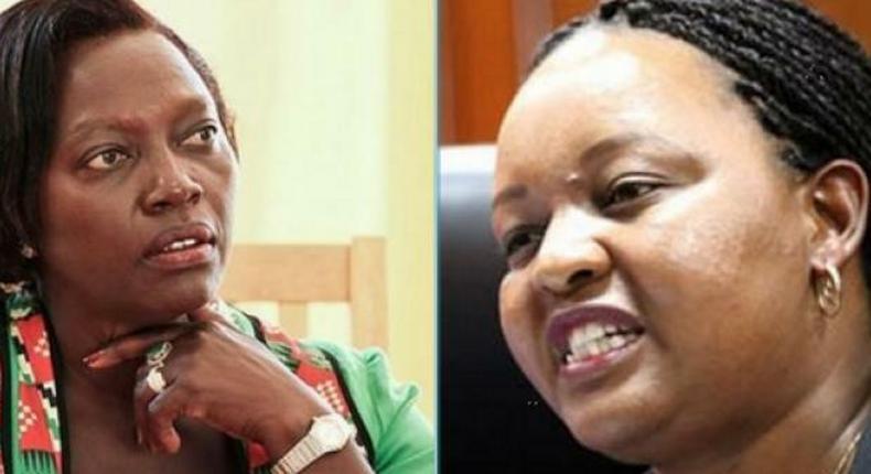 Martha Karua and Ann Waiguru