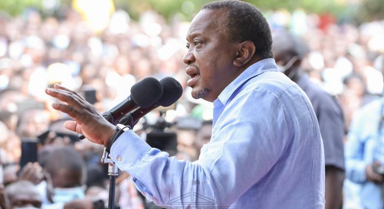 Uhuru responds to Senator Irungu Kang'ata's letter on BBI