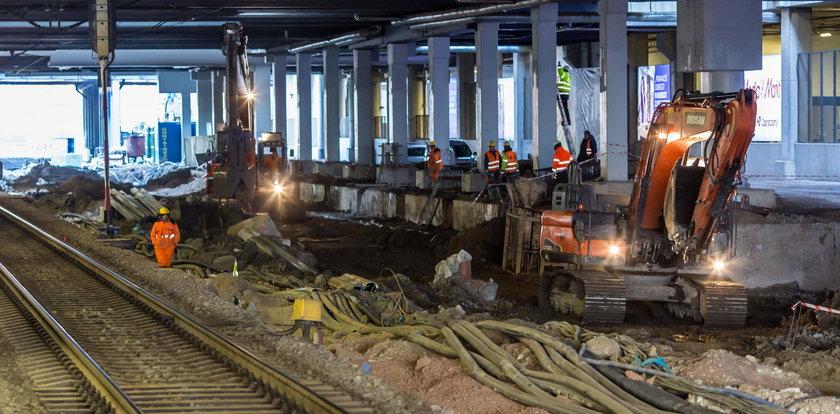 Budują nowy peron