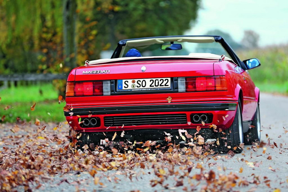 Maserati 2.8 Biturbo Spyder: niepowtarzalny dźwięk