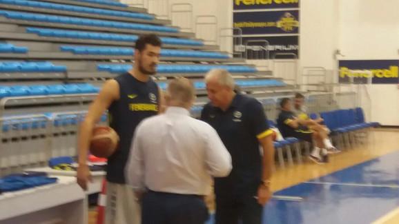 Kalinić i Obradović na treningu