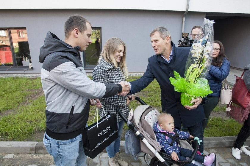 Lokatorzy odebrali klucze do nowych mieszkań komunalnych w Chorzowie!