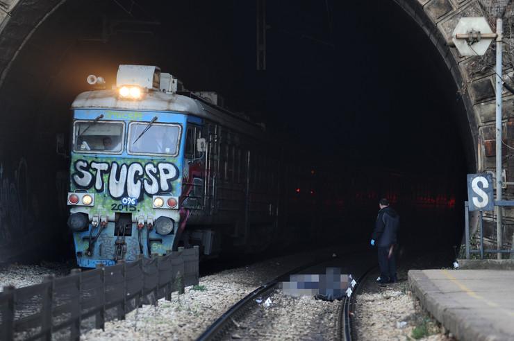 Samoubistvo na stanici Tosin bunar