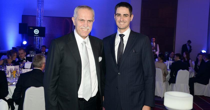 Od lewej: właściciel Polsatu Zygmunt Solorz oraz jego syn, prezes firmy Tobiasz Solorz