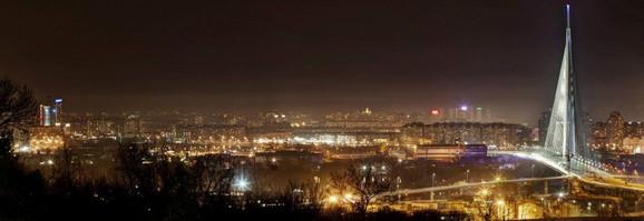 Pogled sa Novog Beograda