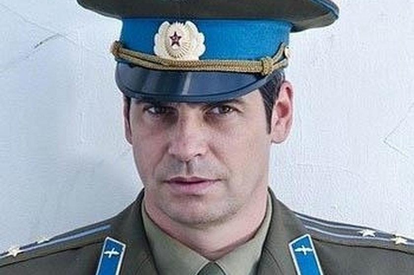 Paweł Deląg w radzieckim mundurze