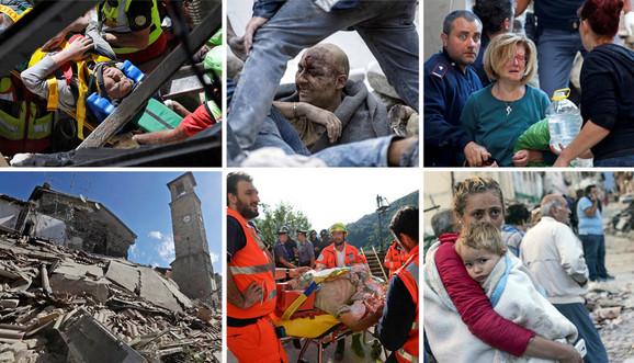 Zemljotres u Italiji
