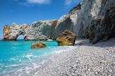 Lalaria plaža, Skiatos, Grčka