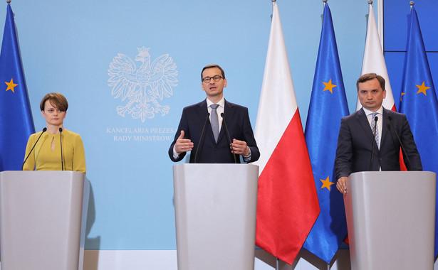 Mateusz Morawiecki, Jadwiga Emilewicz, Zbigniew Ziobro