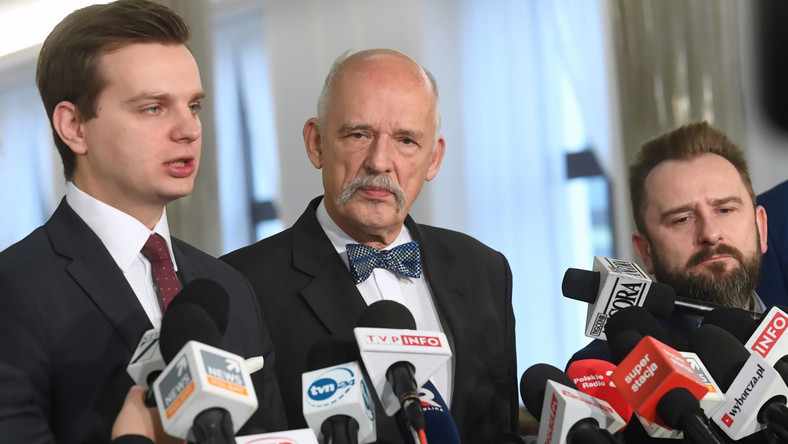 Jakub Kulesza, Janusz Korwin-Mikke i Piotr Liroy-Marzec