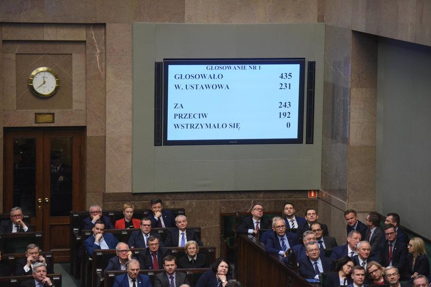 Sejm podjął decyzję ws. rządu Mateusza Morawieckiego