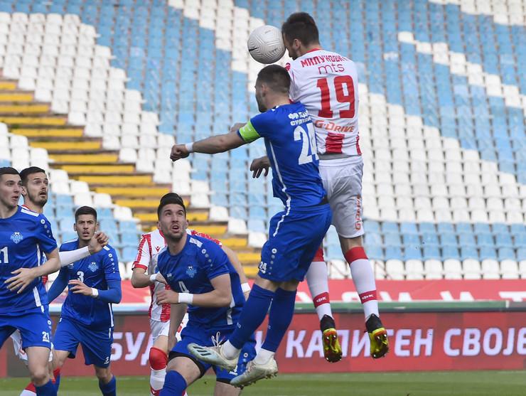 Detalj sa meča FK Crvena zvezda - Radnik