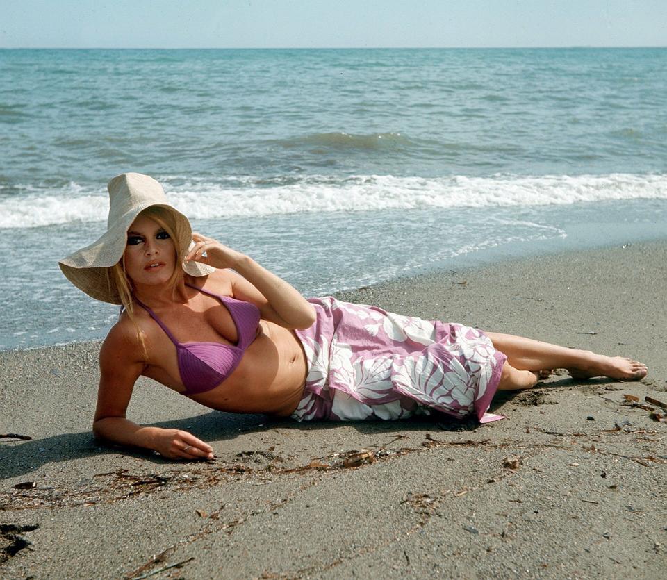 Brigitte Bardot za młodu