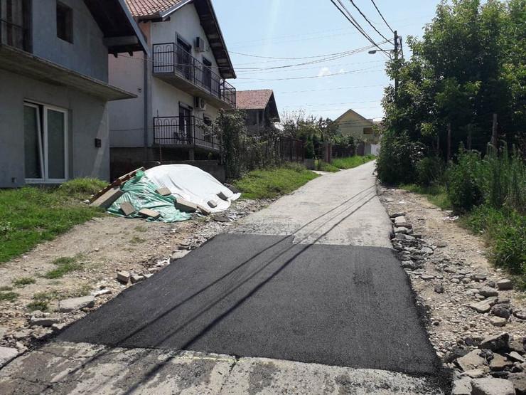 šejkina ulica alfaltirana
