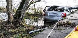 Samochód wpadł do rozlewiska! Nie żyje 5 nastolatków
