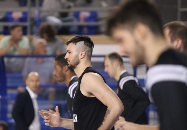 Nikola Janković na meču Mornar - Partizan