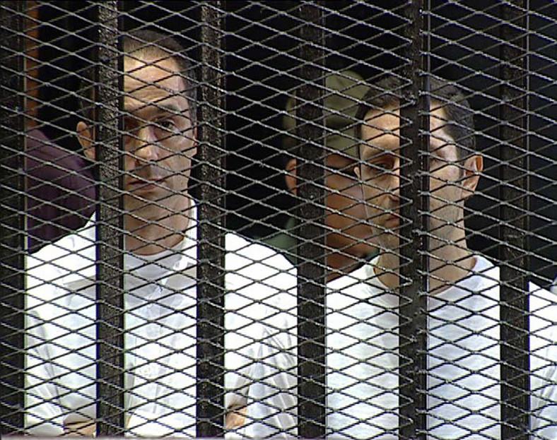 Synowie Hosniego Mubaraka