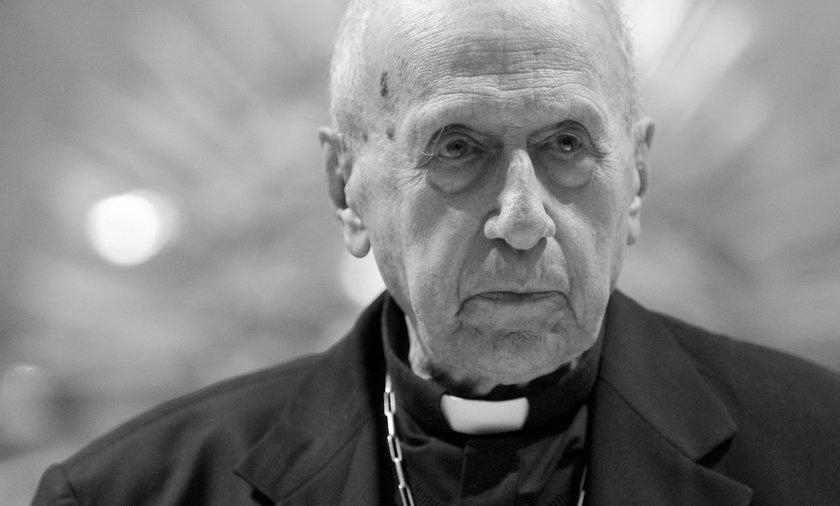 Kardynał Roger Etchegaray - zdjęcie z 2014 r.