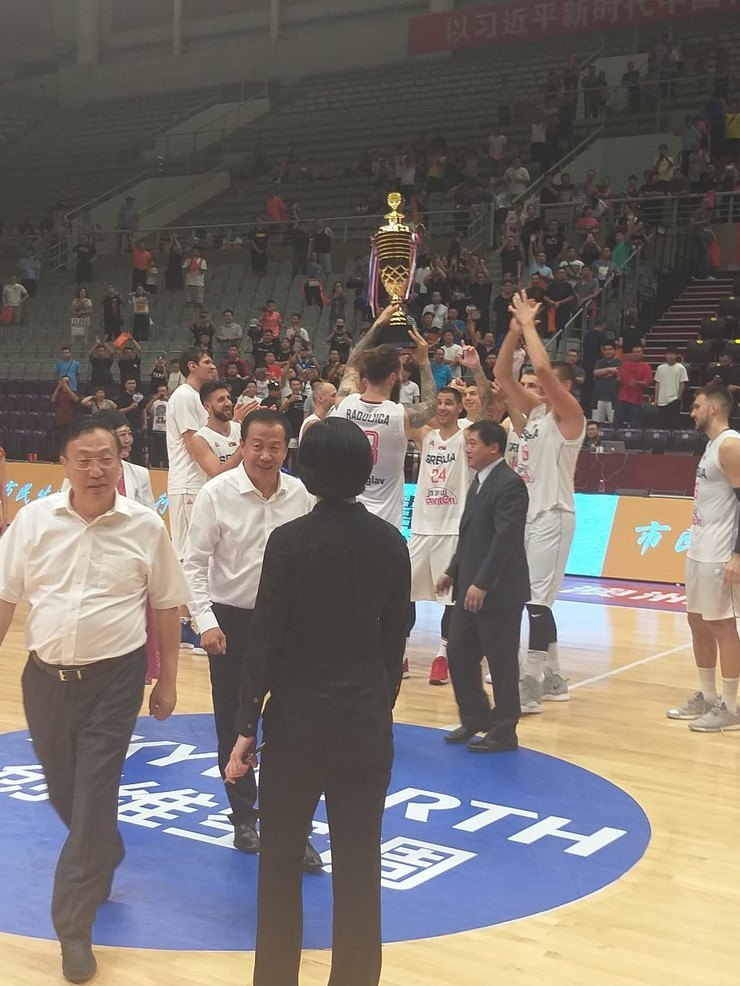 Košarkaši Srbije, osvojen Turnir