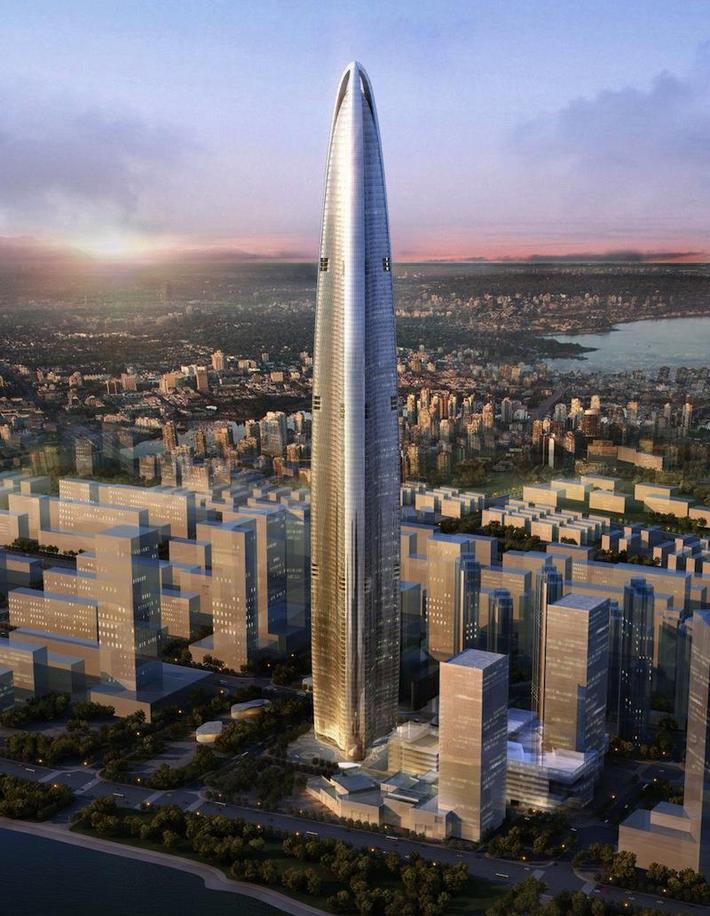 Wuhan Greenland Center, Wuhan, Chiny