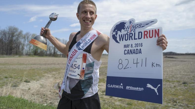 Wings for Life World Run, Bartosz Olszewski