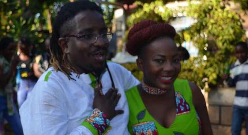 Tony Mochama with wife Flora Njagi