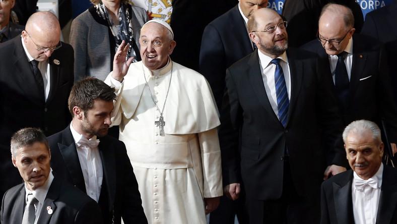 Papież w Parlamencie Europejskim