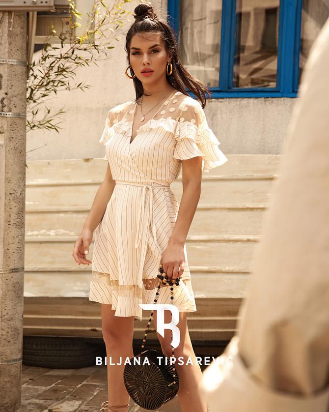 Lepršava haljina idealna za leto