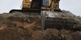 Ludzkie szczątki na placu budowy przedszkola