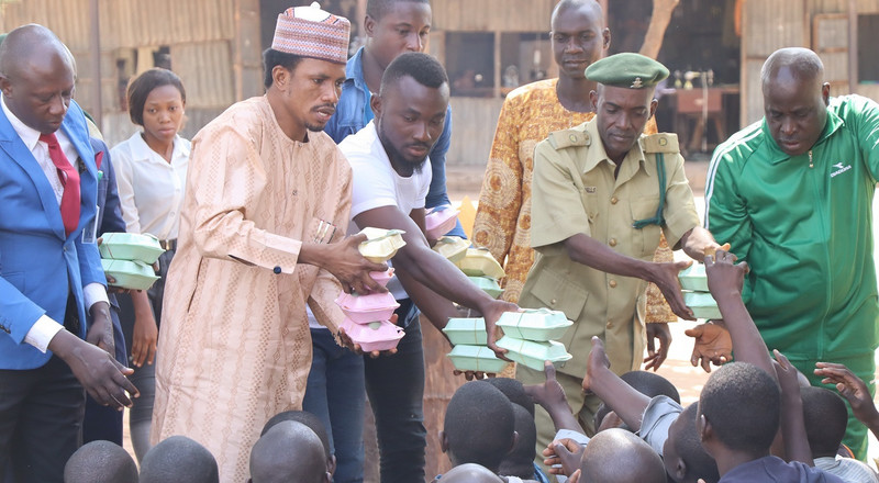 """Justice delayed is justice denied,"" Senator Abbo says as he eats with prison inmates"