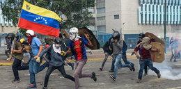 Demonstracja w Wenezueli. Starcia z policją