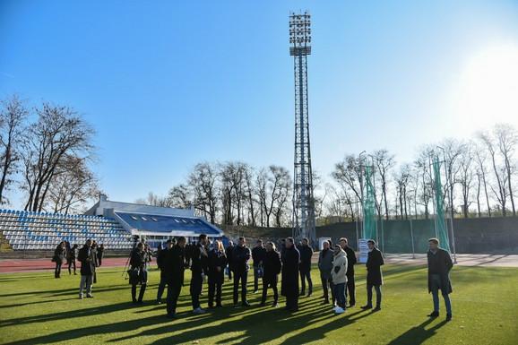 Igor Mirović i Vanja Udovičić odišli su danas Gradski stadion u Subotici