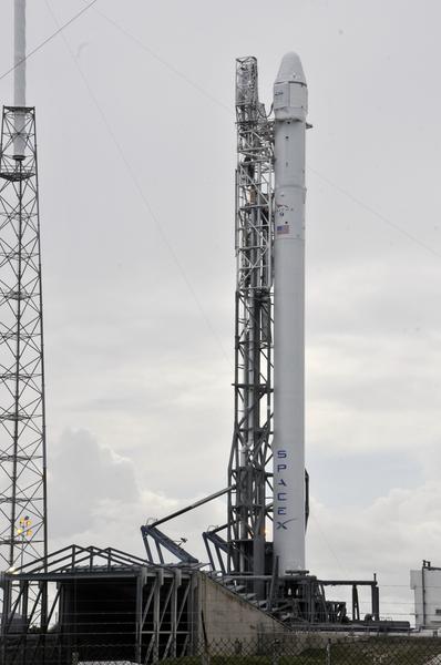 Rakieta Falcon 9 firmy SpaceX