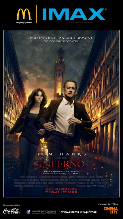 """Inferno"" w Cinema City"