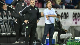 Australian head coach Ange Postecoglou led his country to the Asian Cup title in 2015 Creator: Bo Amstrup