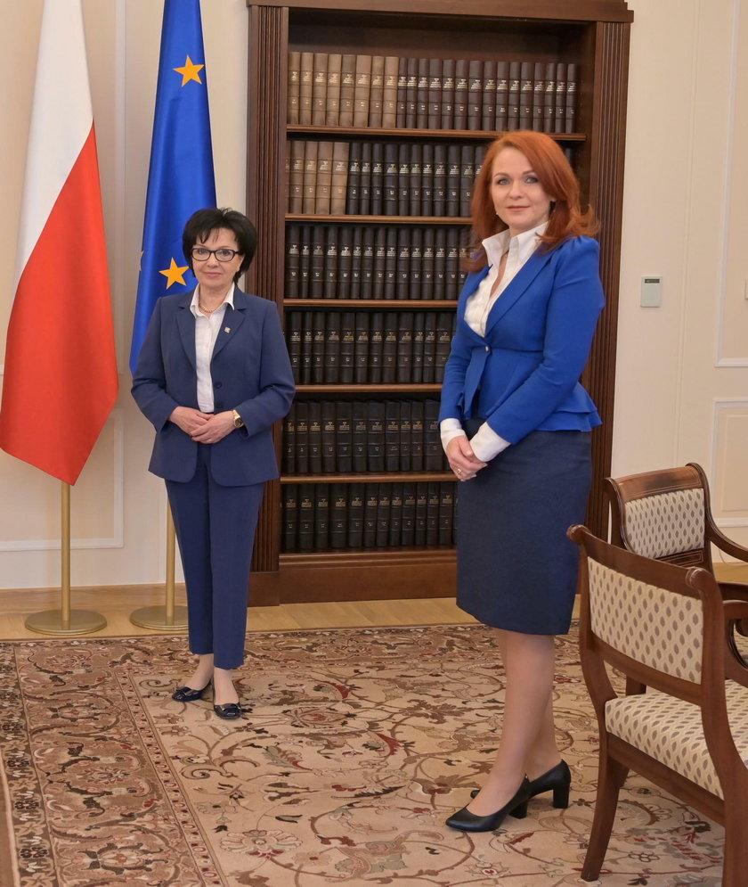 Elżbieta Witek, Agnieszka Kaczmarska