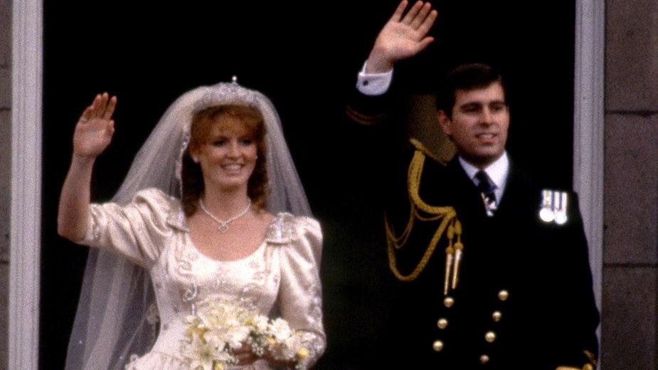 Sarah Ferguson i książę Andrzej pobrali się 35 lat temu