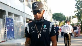 Hamilton pochwalił się najnowszą okładką