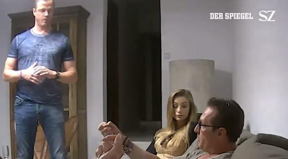 Bračni par Gudenus i Hajnc Kristijan Štrahe na kontroverznom snimku