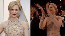 Nicole Kidman nie potrafi klaskać? Aktorka wyjaśnia najwiekszą zagadkę Oscarów