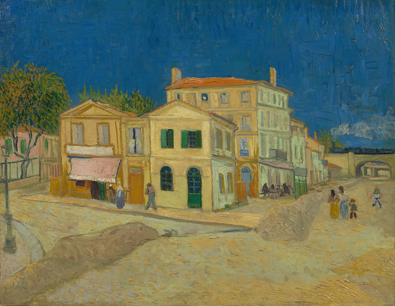 "Vincent van Gogh, ""The Yellow House (The Street)"" (1888)"