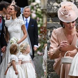 Pippa Middleton wyszła za mąż. Kto przybył na ceremonię? Spójrzcie tylko na księcia George'a i księżniczkę Charlotte