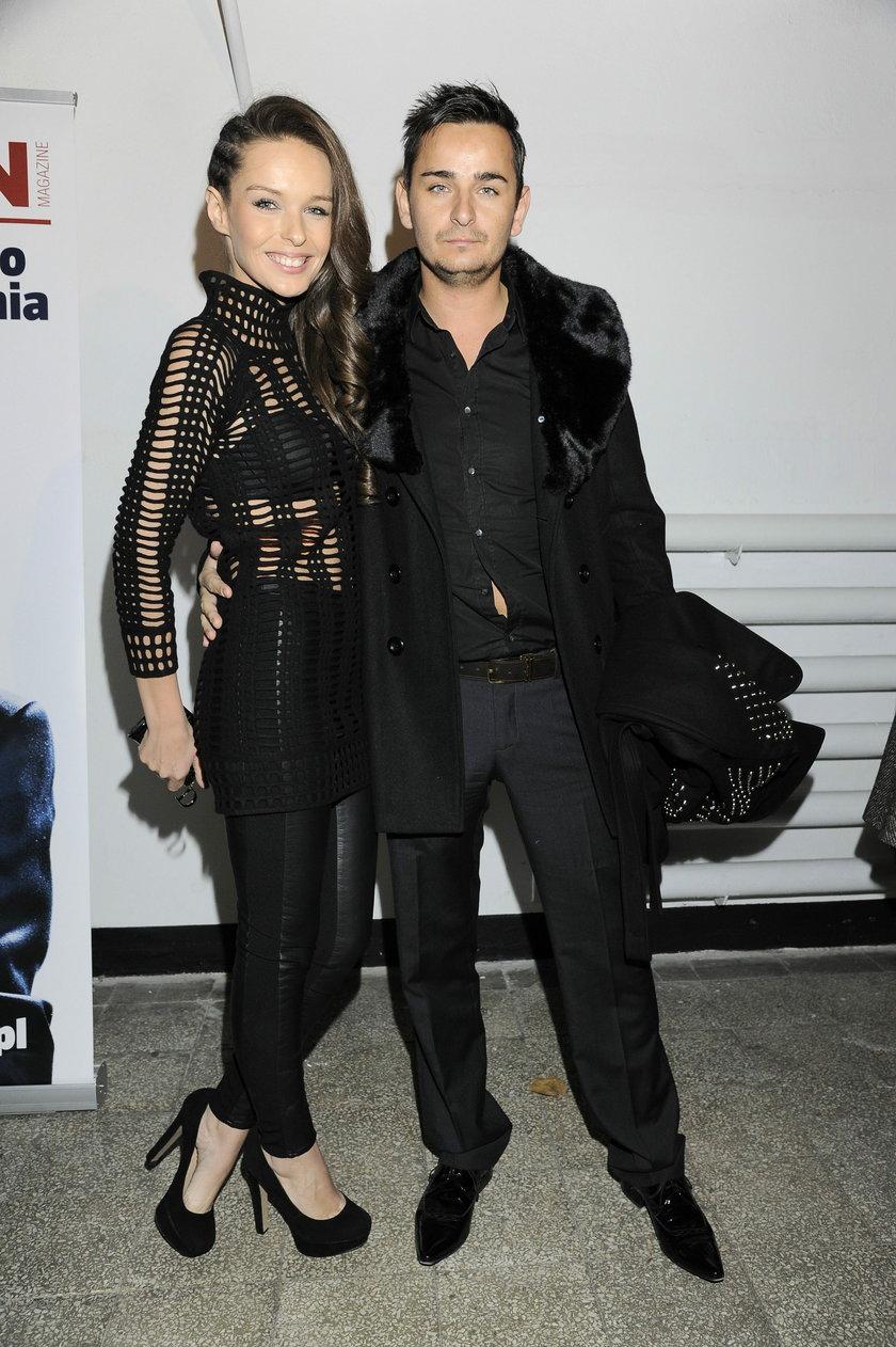 Katarzyna Sowińska z bratem bliźniakiem, Tomaszem Sowińskim