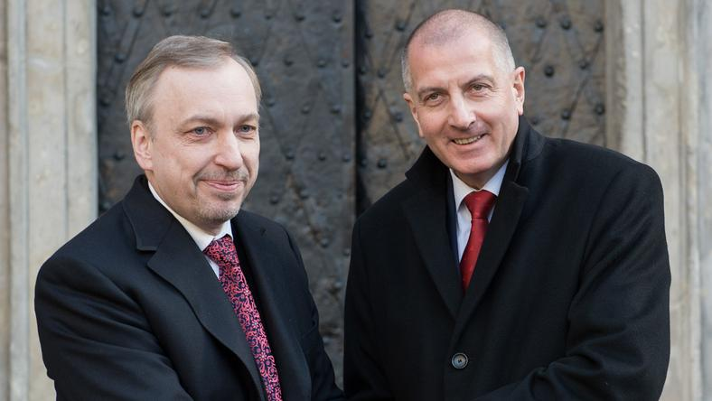 Bogdan Zdrojewski i Rafał Dutkiewicz