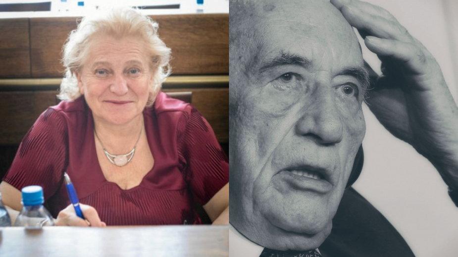 Anna Jaśkowska i Tadeusz Mazowiecki