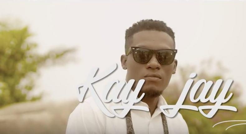 KayJay in his video, 'Work & Pray'.