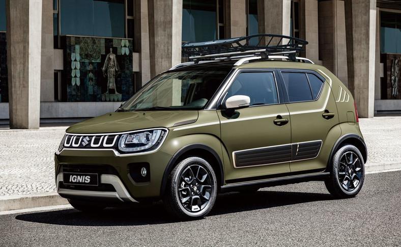 """Suzuki Ignis będzie można personalizować i """"uzbroić"""" w praktyczne akcesoria"""