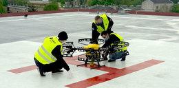 Drony walczą z koronawirusem